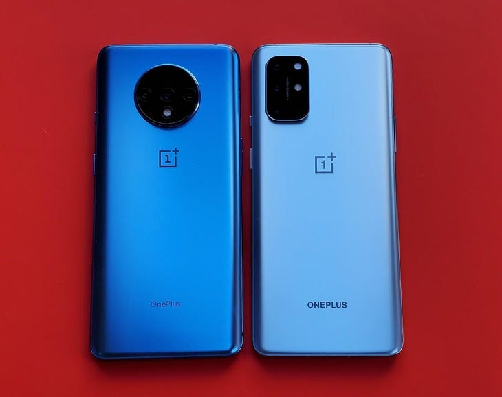 OnePlus 7T for 8T