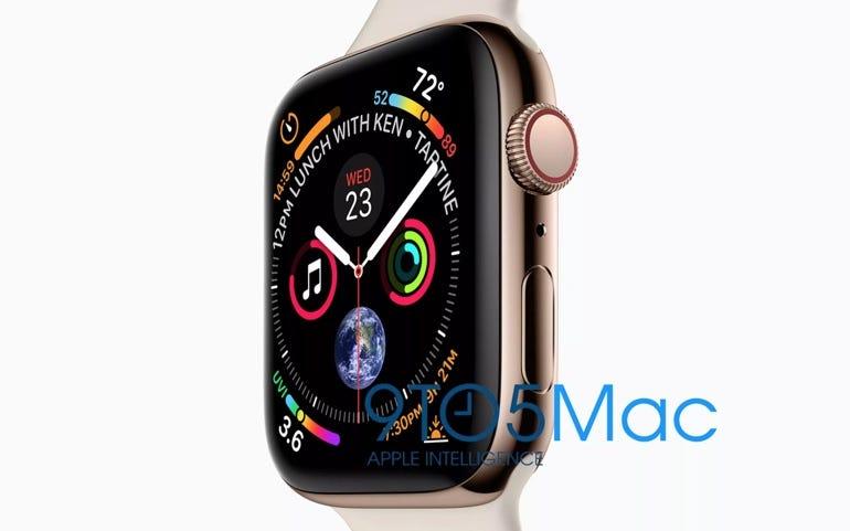 As-yet unreleased Apple Watch