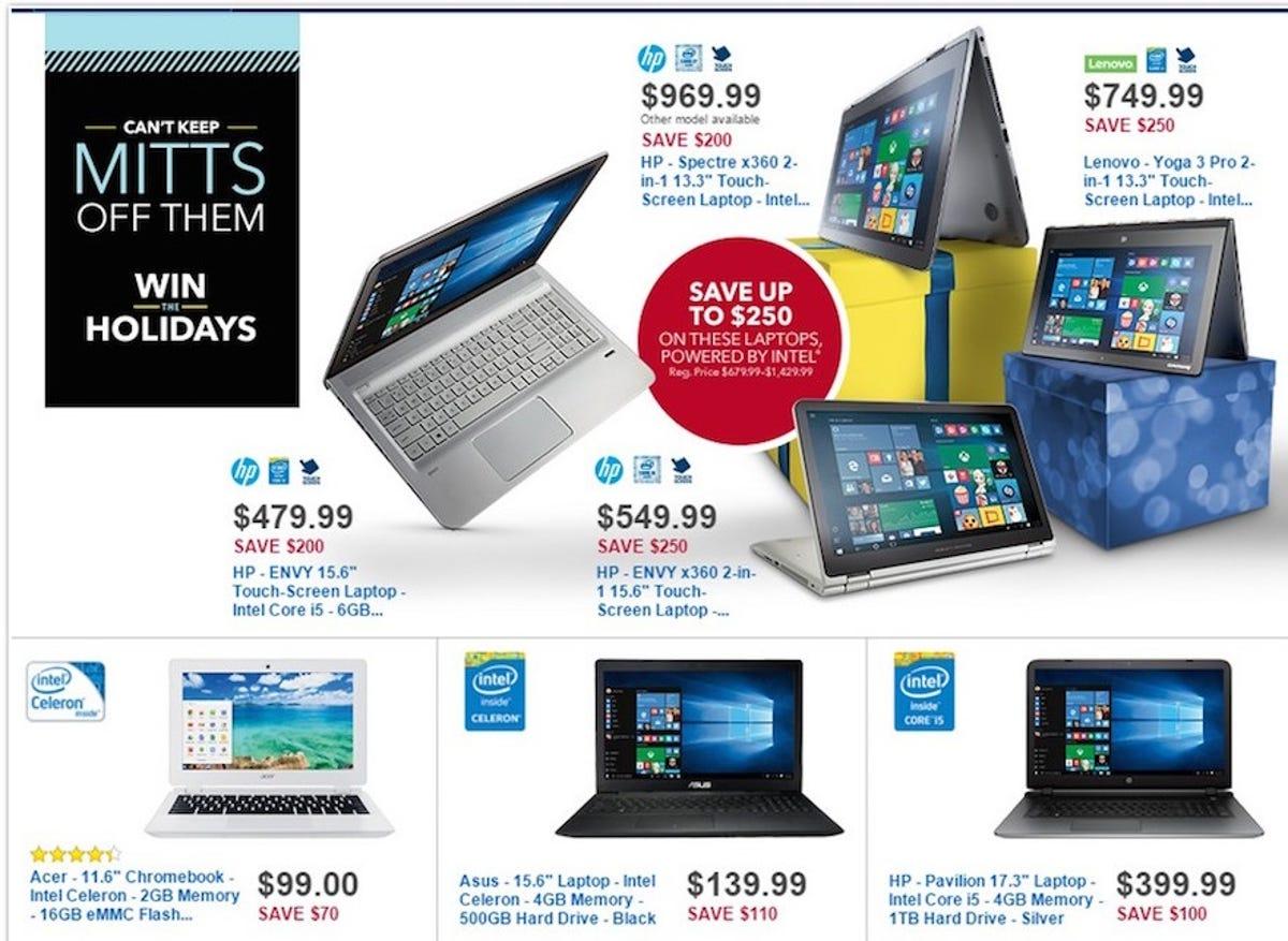 Best Buy Black Friday 2015 Laptop Desktop Ipad Deals Include 99 Chromebook Zdnet