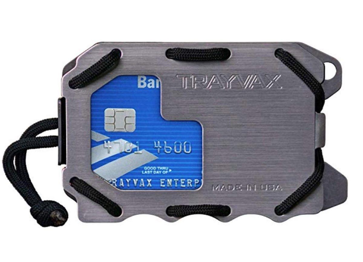 Trayvax Original 2.0 Metal Wallet