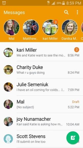 Messaging gets a make over
