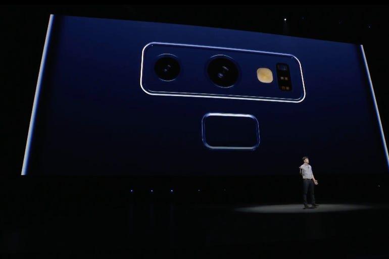Galaxy Note 9: Dual rear cameras again
