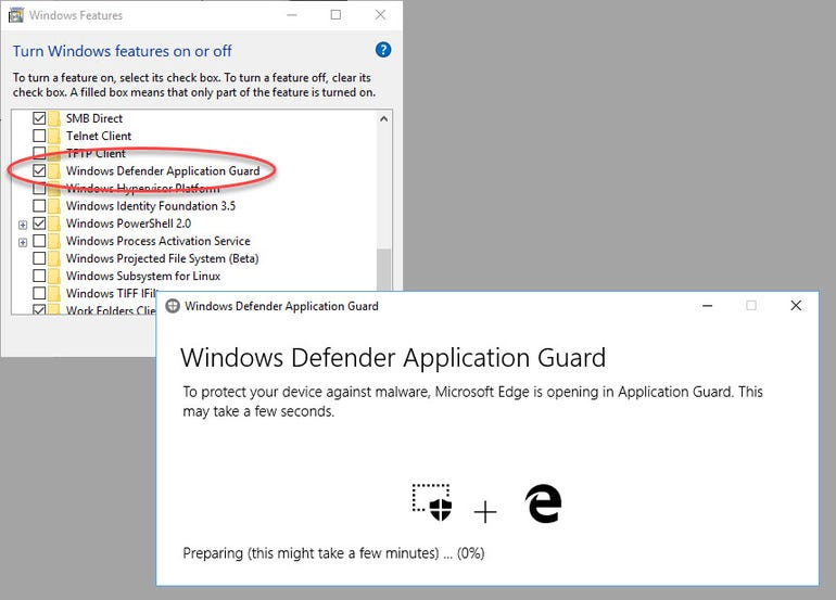 Turn on this feature to create secure, isolated browser sessions