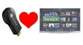 Chromecast loves TV