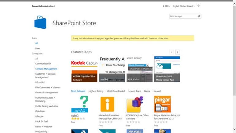 sp2013-SharePointStore
