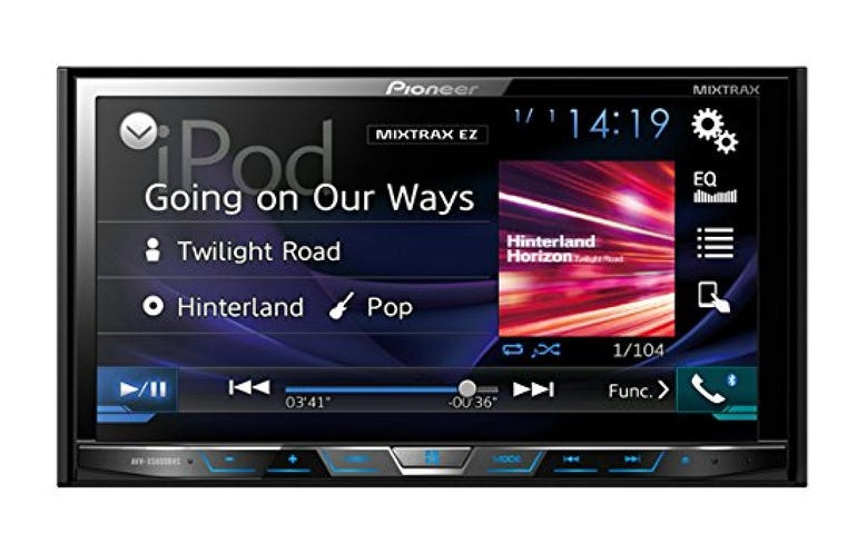 """Pioneer 2-DIN receiver with 7.0"""" display"""