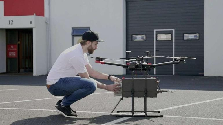 ROUND 9: PARCEL DELIVERY BY DRONE