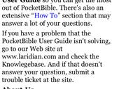 Image Gallery: PocketBible for the iPhone & iPod touch