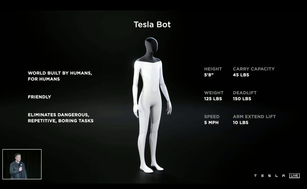 Elon Musk construit un robot humanoïde: qui pense aussi que c'est une très mauvaise idée?