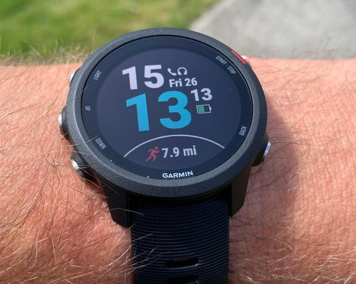 Typical watch face