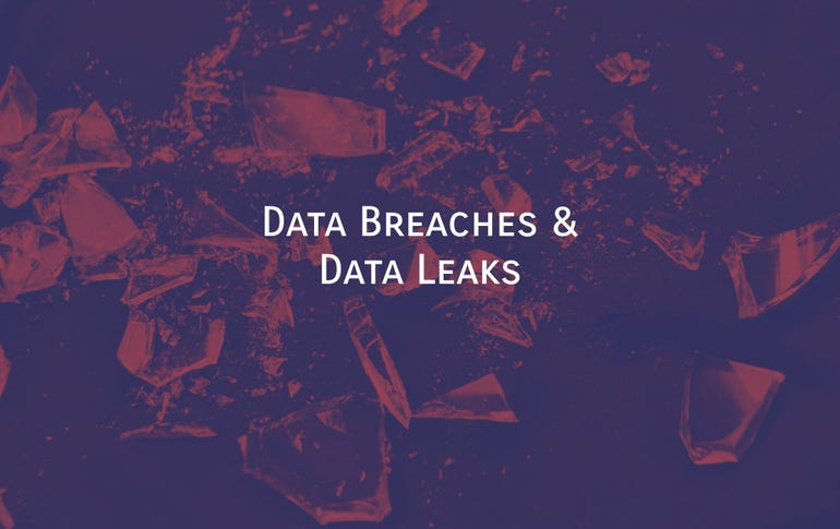 Data breaches and data leaks