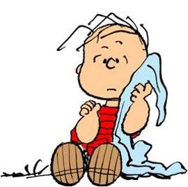 Linus and his MacBook Air Security blanket
