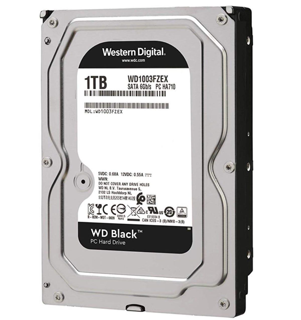 WD Black 1TB Performance Desktop Hard Disk