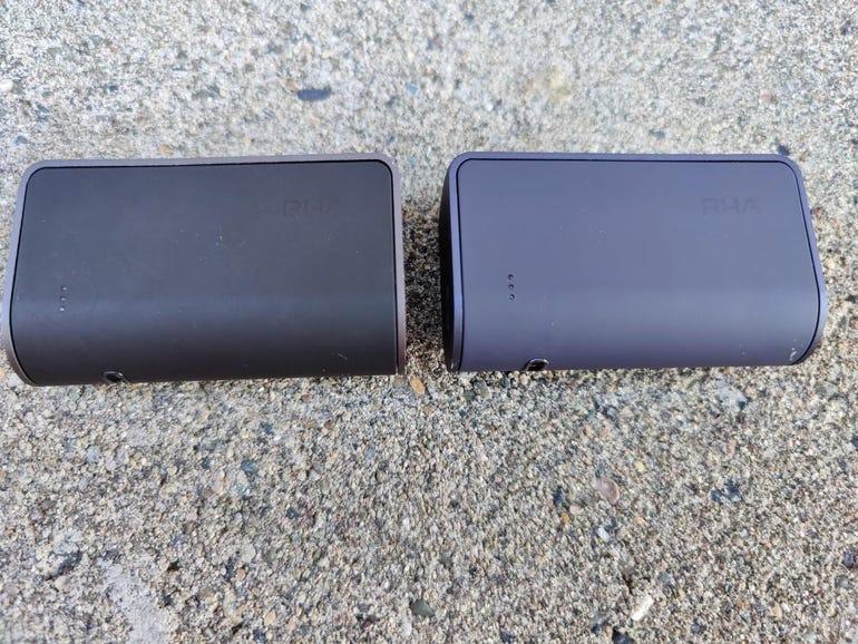 Original TrueConnect vs TrueConnect 2 charging cases