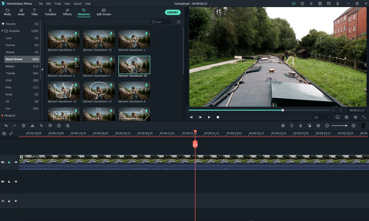 I spent a week with Filmora's editing software and produced professional video | ZDNet