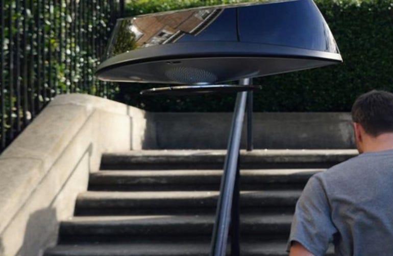 SpatiaFlight levitating speakers