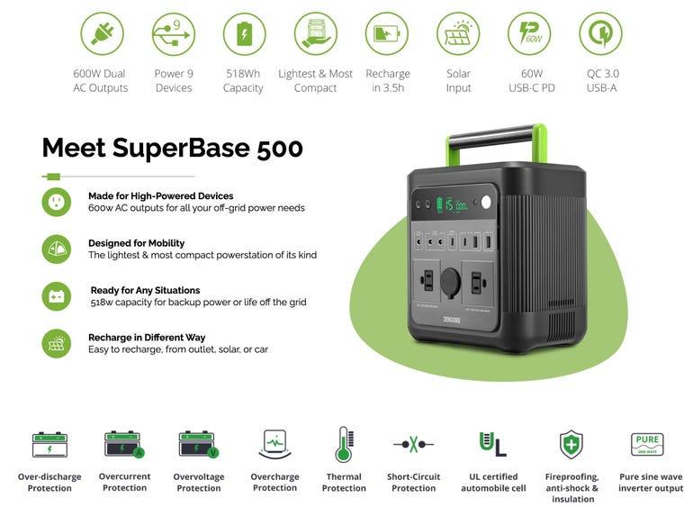 Zendure SuperBase 500