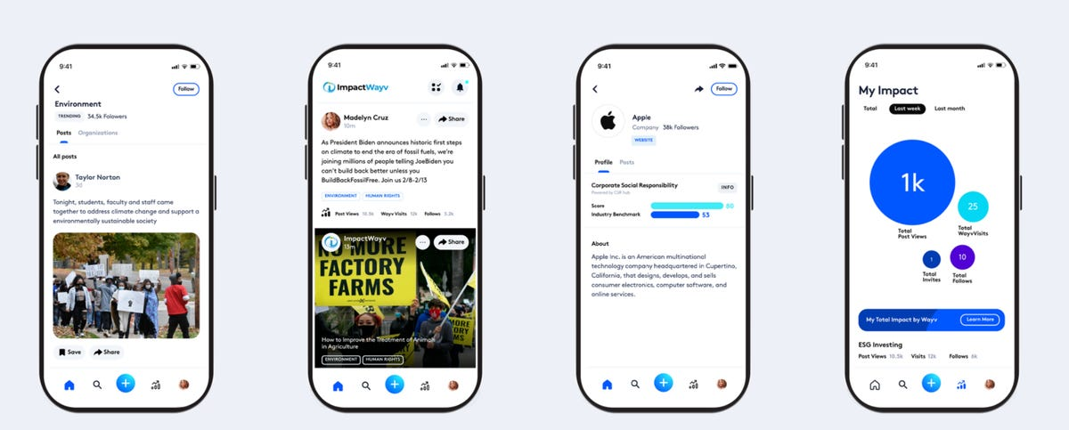 Social impact app ImpactWayv aims to connect people for good causes and CSR zdnet