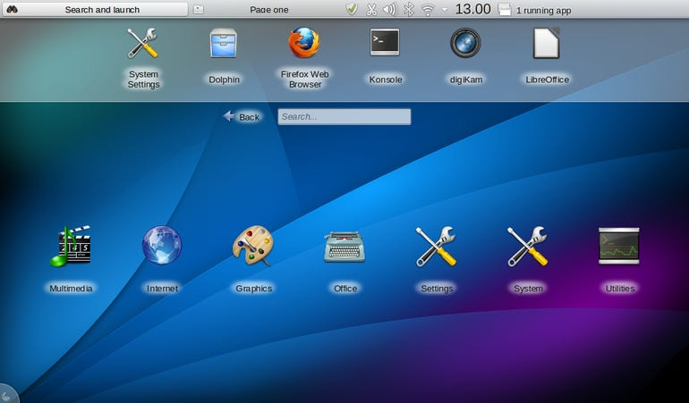 Mint KDE Netbook