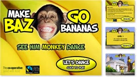 Baz co-op marketing campaign for bananas