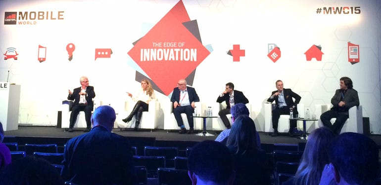 The privacy panel at yesterday's MWC.