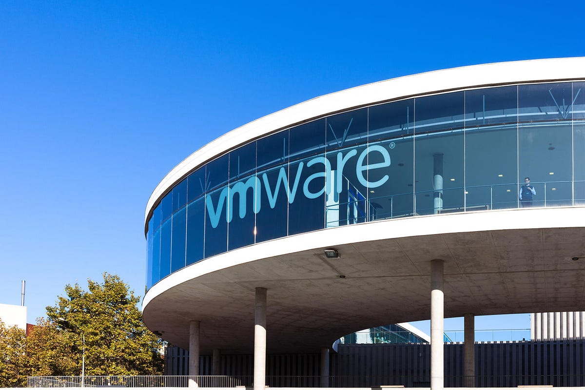 View of the VMWARE exhibition center