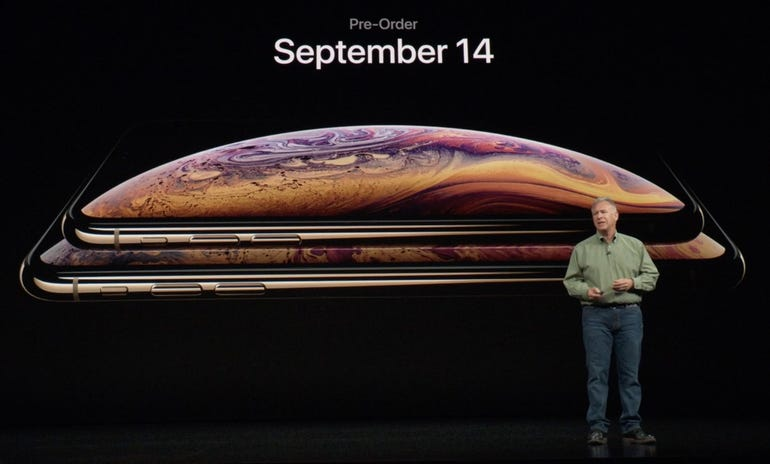 iPhone XS and iPhone XS Max pre-order availability