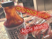 Android Wear Apple iWatch
