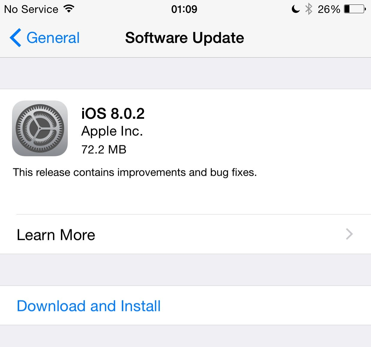 iOS 8.0.2 release