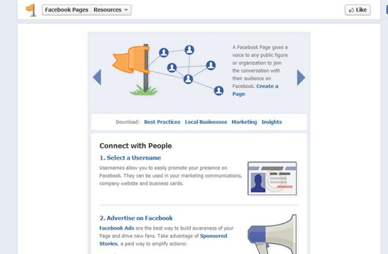 Example of iframe in a Facebook Tab