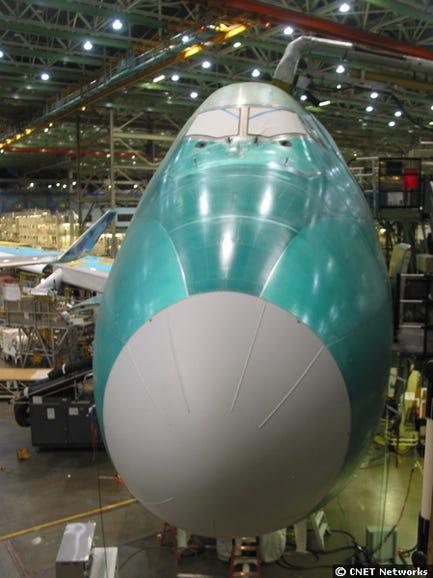 747 Build Front
