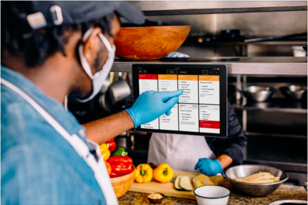 Square Introduces New Kitchen Display Software For Restaurants Zdnet