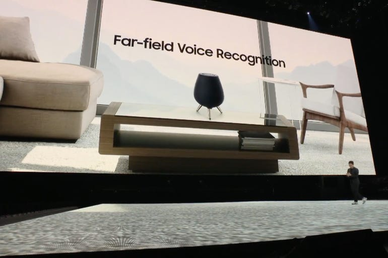 Galaxy Home: Far-field voice recognition