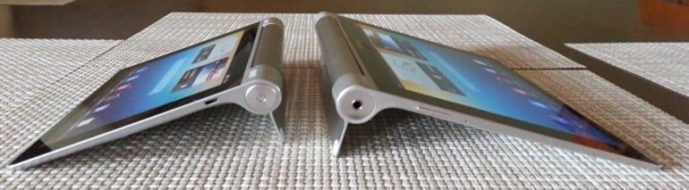 Yoga Tablet 8 and 10 tilt mode