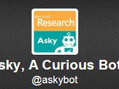 Microsoft dabbles in more Twitter research with AskyBot