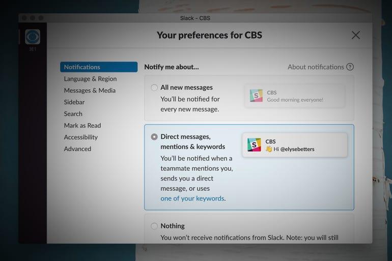 Get desktop notifications