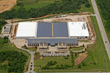 The project in Tulsa doubled the size of EDS' existing data center, while saving millions in cooling