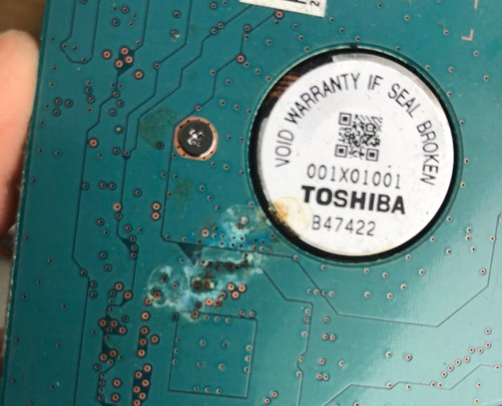 What about storage devices that become defective under warranty?
