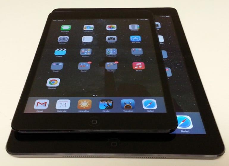 iPad mini and Air