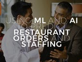 Using ML and AI to predict restaurant orders and staffing