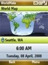 Image Gallery: World map showing day and night