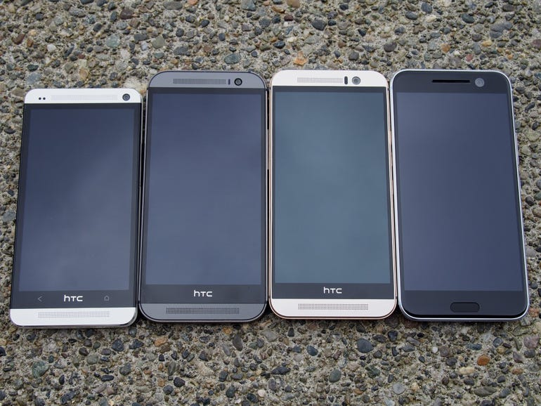 HTC One M7, M8, M9, and HTC 10