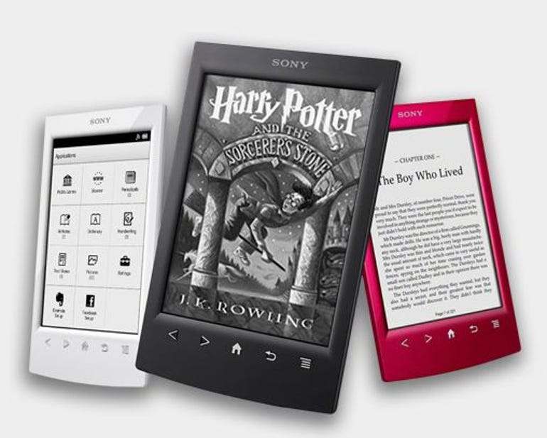 Sony rolls out new PRS-T2 Reader with stylus, Facebook, and Evernote