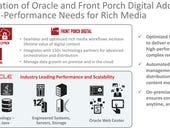Oracle acquires media storage company Front Porch Digital
