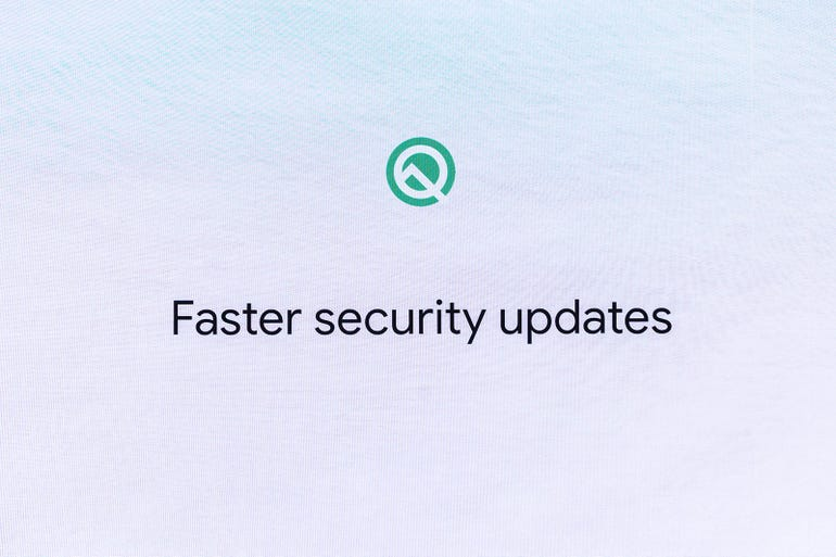 Security updates through Play Store