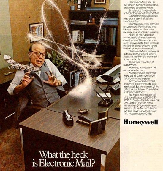 Honeywell email ad