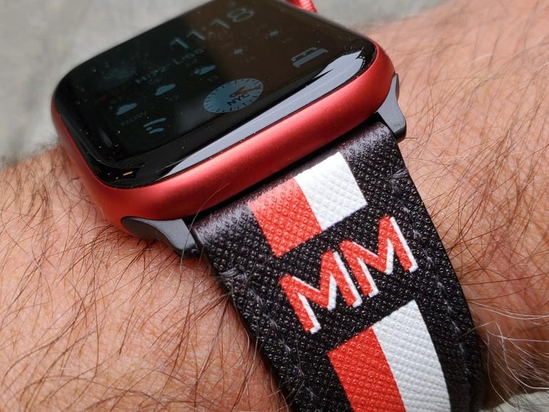 Casetify Apple Watch 6 bands hands-on: Affordable leather and metal bands   ZDNet