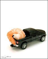 Jumbo Shrimp by Gunmetal for Worth1000