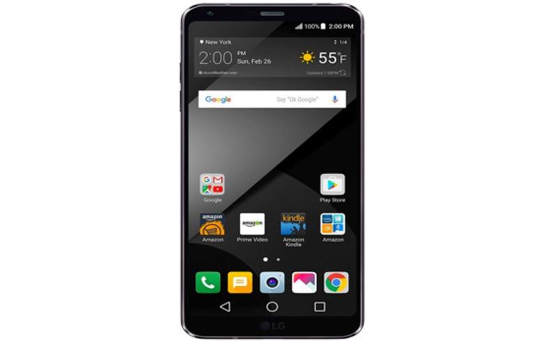 LG G6+ smartphone