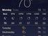 Weather app redesigned, à la Yahoo